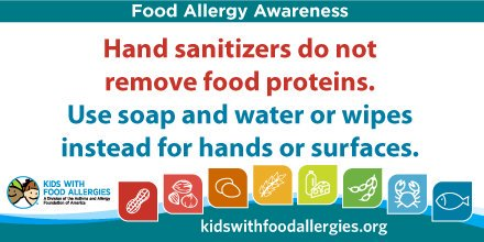 sanitizers dont stop allergens